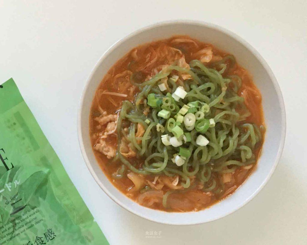 NAKAKI 蒟蒻纖食菠菜麵